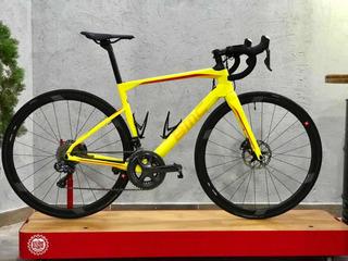 Bicicleta Bmc Roadmachine Di2 Yellow