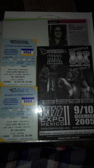 Kiss Expo Rock Ii Eric Singer Esp Boletos Publicidad