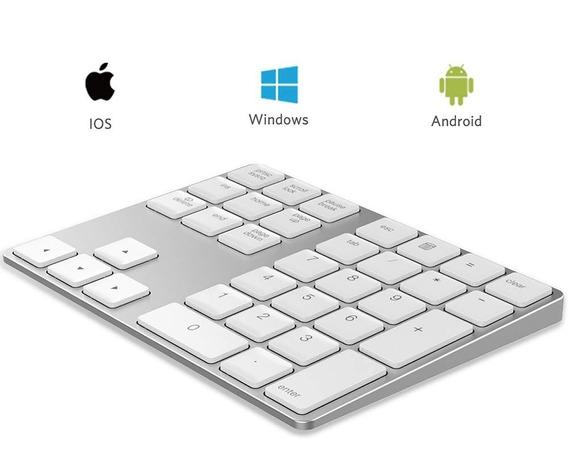 Teclado Numérico Bluetooth Para Apple iMac E Macbook