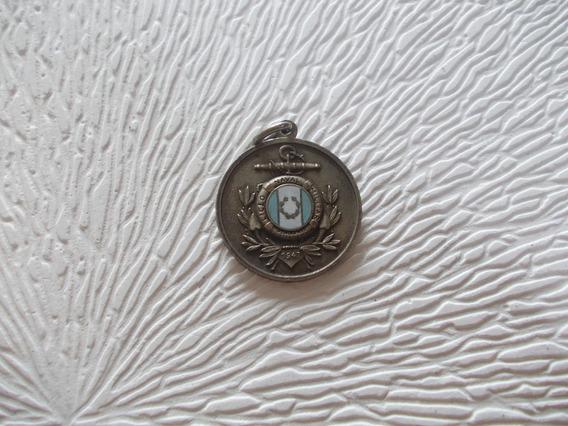 Medalla Liceo Naval Militar Esmalte1968 Guardiamarina Bronce