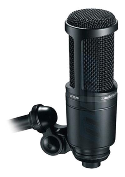 Microfone Condensador Audio-technica At2020 Xlr Estúdio