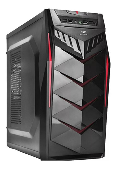 Pc Cpu Intel Hd 320 4gb Ram Em Gabinete Gamer C3 Tech E Wifi