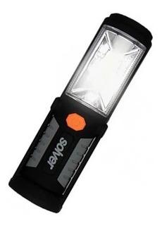 Lanterna Led Recarregável Pro Cob 3w Com Imã Slp-302 Solver