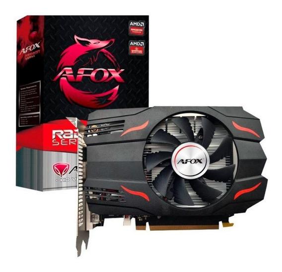 Placa De Vídeo Afox Amd Radeon Rx550 4gb Ddr5 Afrx550