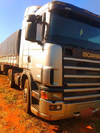 Scania 124-400\2004 Com Bitrem Randon\2009