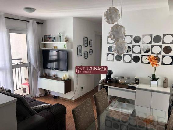 Apartamento Com 3 Dormitórios À Venda, 64 M² Por R$ 330.000 - Jardim Las Vegas - Guarulhos/sp - Ap4230