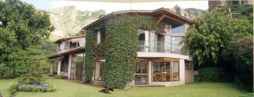 Hermosa Casa A 5 Minutos Del Centro De Tepoztlan Con Magnifica Vista