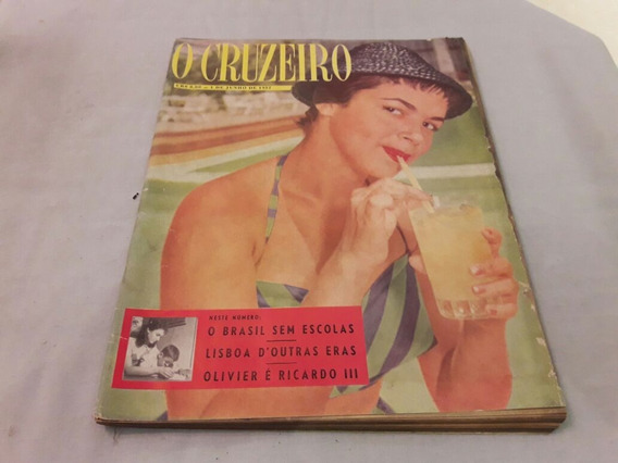 O Cruzeiro 01/06/57 Miss Rio Grande Do Sul/lisboa