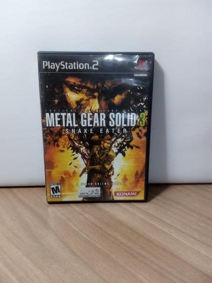 Metal Gear Solid 3 Snake Eater Ps2 Usado