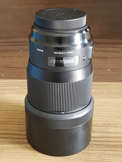 Lente Canon Sigma Art 135mm F/1.8 Dg Hsm Art (p/canon)