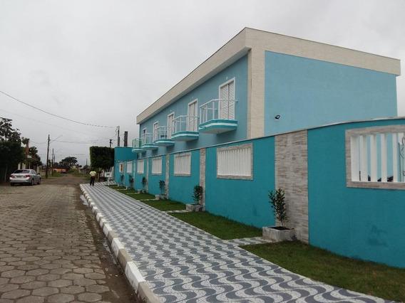 Sobrado Em Flórida Mirim, Mongaguá/sp De 75m² 2 Quartos Para Locação R$ 950,00/mes - So612998