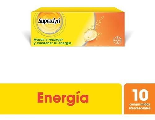 Supradyn Comprimidos Efervescente X 10