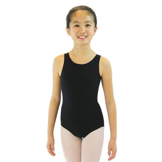 Mallas De Ballet Danza Para Nenas Musculosa Sin Mangas
