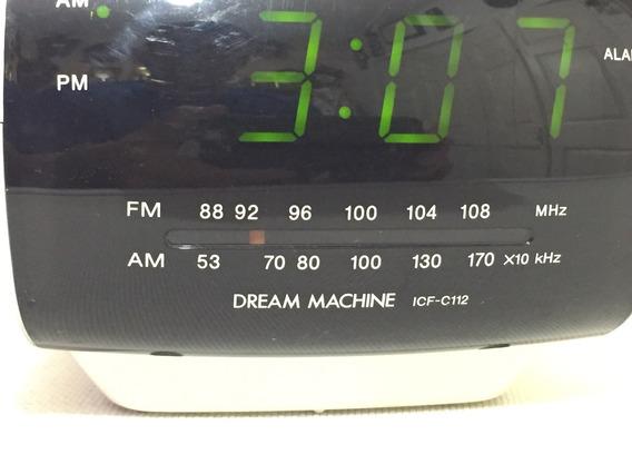 Hermoso Radio Reloj Amfm Eléctrico Sony Despertador Original