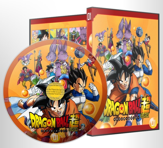 Dvd Dragon Ball Super Dublado Completo