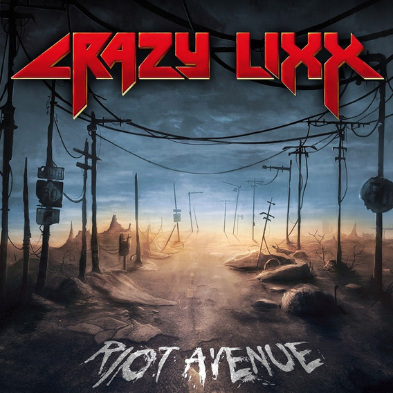 Crazy Lixx Riot Avenue Cd Nuevo Original En Stock