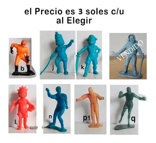 Imagen 1 de 3 de Dante42 Vaquero Soldados Plastico El Precio Es C/u Al Elegir