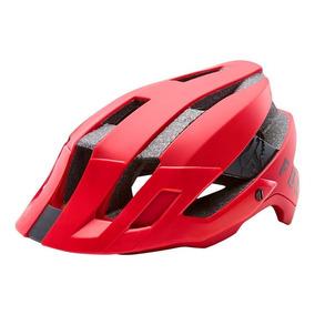 Capacete Fox Bike Flux Solid Vermelho Rs1