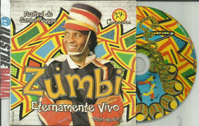 Cd Tonho Matéria Zumbi Eternamente Vivo Axé Music E Capoeira