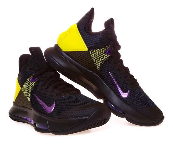 Tenis Basket Nike Lebron Witness 4 Lakers Edition 2020