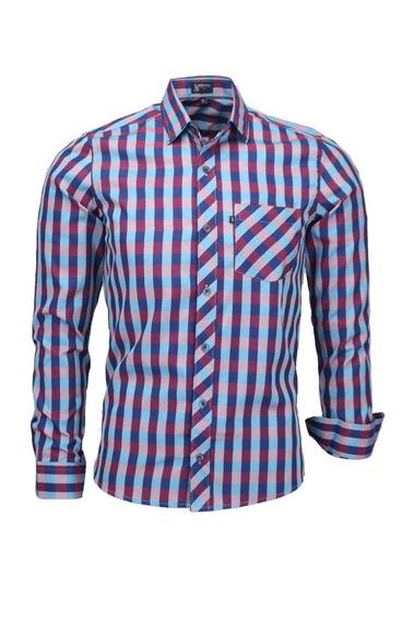 Camisa Plug Manga Longa Slim - Cor 04 - Ref 1537