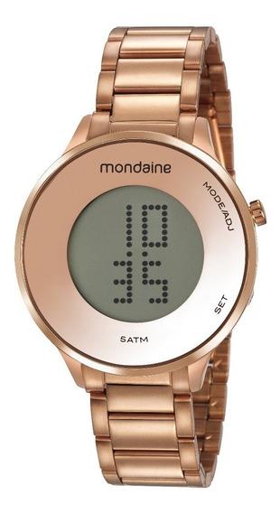 Relógio Mondaine Feminino Rosê 53786lpmvre2 - Digital