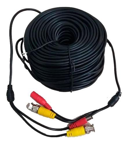 Imagen 1 de 2 de Cable Siames C/conectores Hembra A Macho P/cctv 40 Mts F30