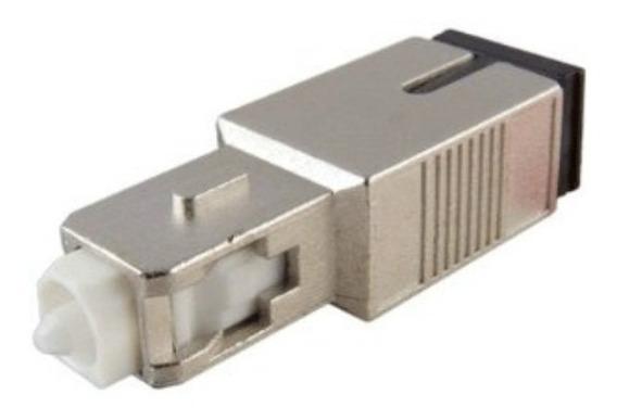Kit C/5 Unidades Atenuador Fibra Optica Sc/sc ( Macho E Fêmea ) Upc 10 Db Nfe