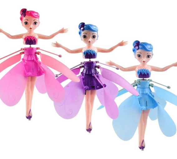 Hada Voladora Juguete Niñas Muñeca Flying Fairy