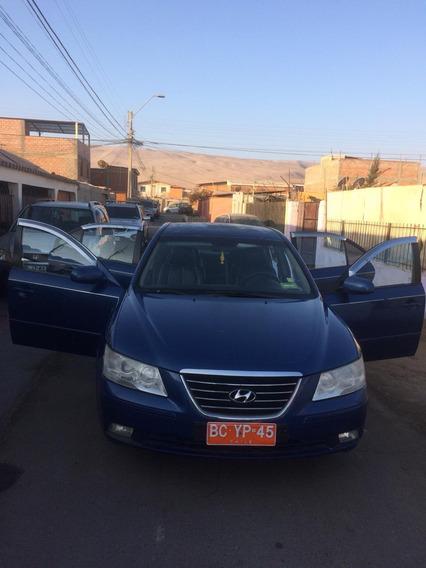 Taxi Turismo Hyundai Sondata N 20 Motor 2.0 Azul 5 Puertas