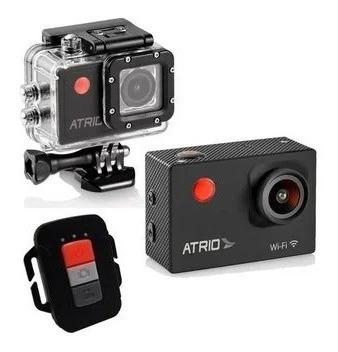 Kit Completo - Câmera De Ação Atrio Fullsport + 32gb Ssd