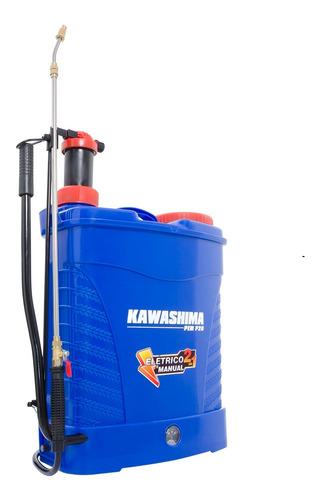 Pulverizador Costal Elétrico Bateria Manual Kawashima Pemp20