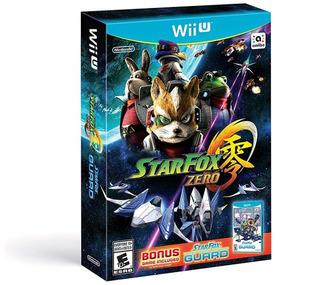Juego Star Fox Zero + Star Fox Guard Wiiu Nuevo
