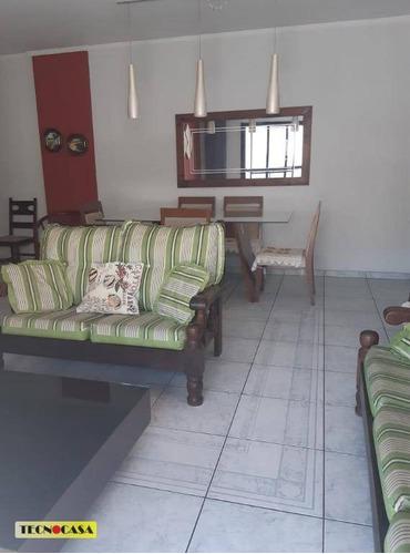 Excelente Apartamento Com 03 Dormitórios Para Venda Com 110 M² No Bairro Vila Guilhermina Em  Praia Grande/sp. - Ap6462