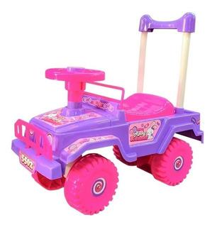 Carro Montable Para Niños Mytoy Jeep Contenedor Niña