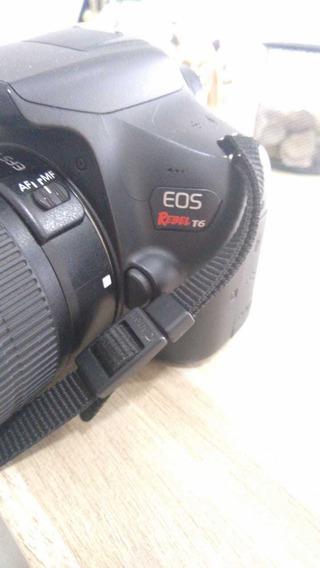 Câmera Cânon T6 + 2 Lentes