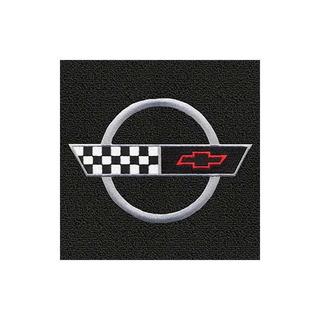 Lloyd Mats - Classic Loop Black 3pc Alfombrillas Para Corvet