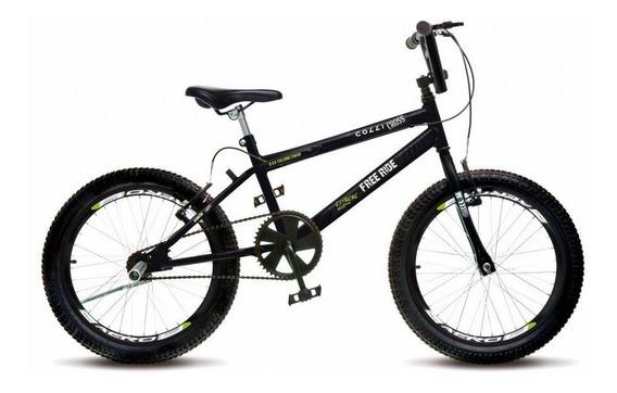 Bicicleta Aro 20 Colli Cross Extreme 36 Raias Freio V-break
