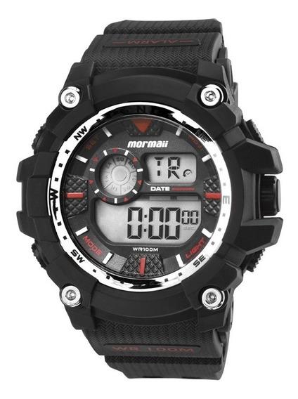 Relógio Mormaii Masculino Digital Preto Mo3530a/8r