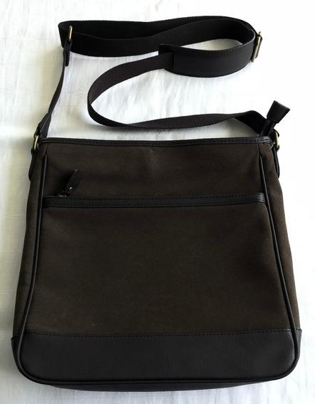 Bolsa Mensageiro Lateral Zara - R$99 À Vista