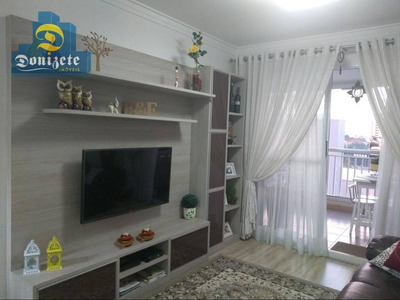 Apartamento Residencial À Venda, Vila Valparaíso, Santo André. - Ap9598