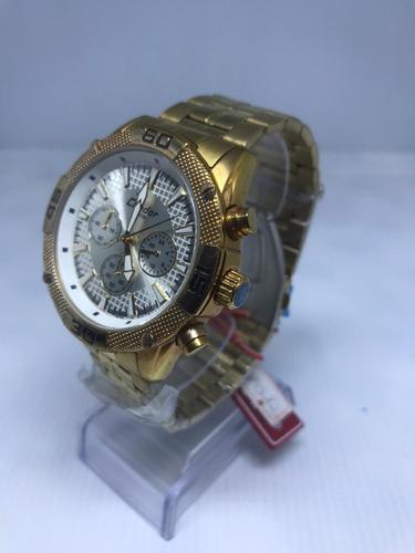 Relógio Condor Masculino Dourado Ky80114/4b