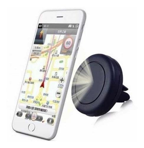 Imagem 1 de 1 de Suporte De Celular E Gps Para Carro Ar-condicionado Com Imã