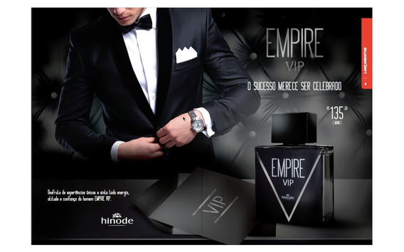Perfume Hinode Empire Vip Tradicional 100ml Original