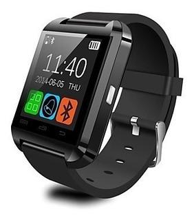 Relógio De Pulso Smart U8 Para Ios E Android (bluetooth)