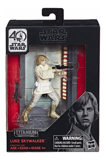 Star Wars 40 Aniversario Luke Skywalker The Black Series