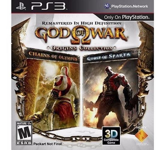 God Of War Origins Collection - Ps3 Mídia Física