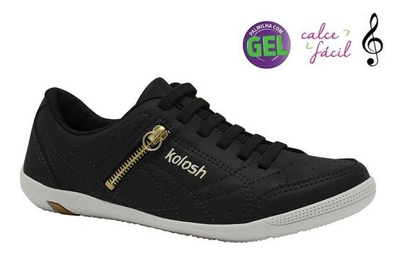 Tenis Kolosh C0413 Kls Calce Facil Sapato Dakota Confortavel