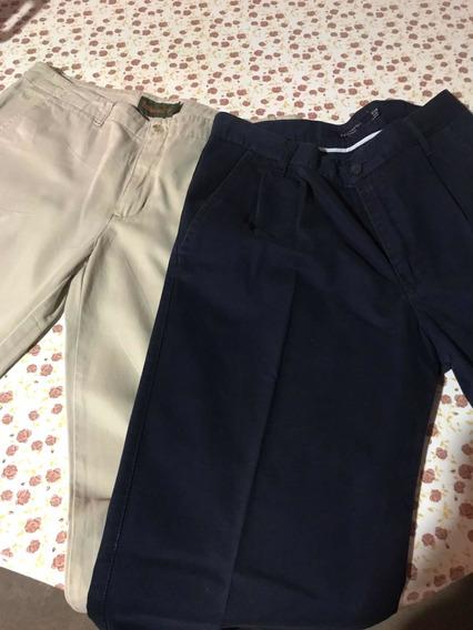 Combo De Pantalones De Vestir Marca Kevingston Y Timberland
