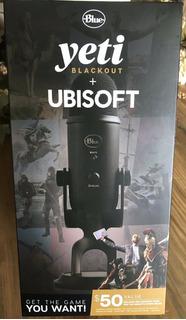 Micrófono Usb Blue Yeti - Blackout Edition